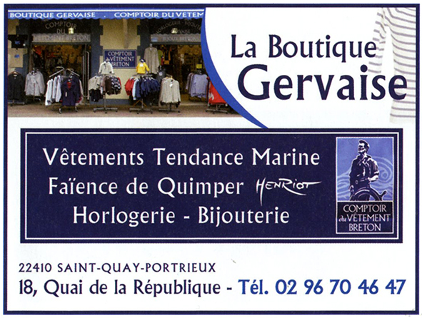 La boutique Gervaise
