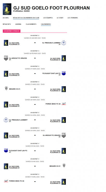 Screenshot 2020 01 20 recherche clubs district de football des cotes d armor