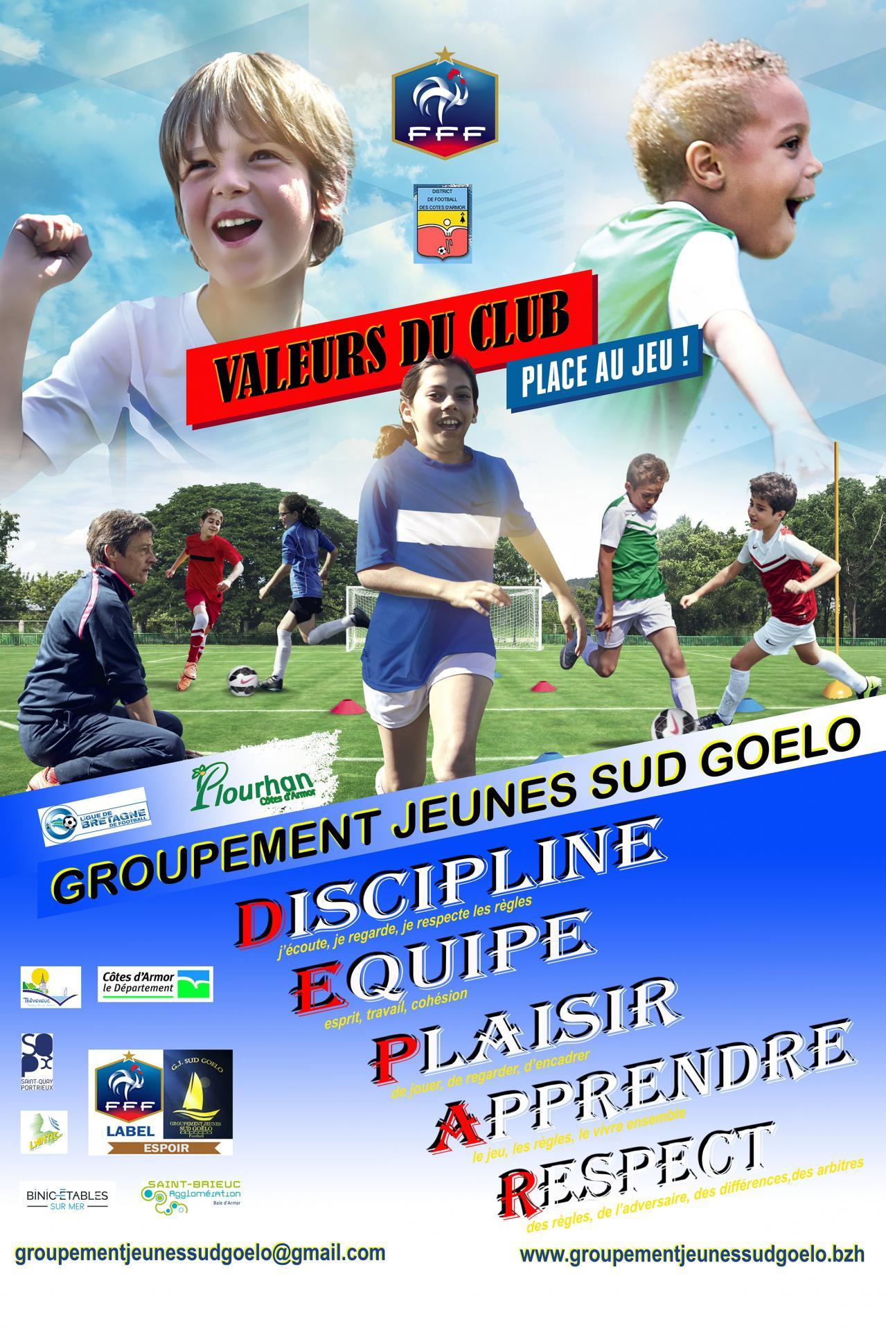 Valeur du club 20x30